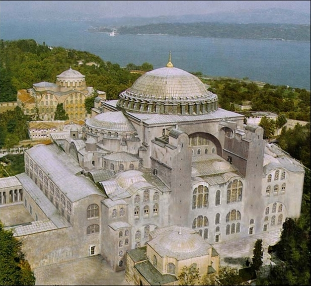 Instanbul S Most Famous Building From The Greek For Holy Wisdom